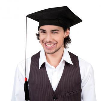 Toque de diplômé 30 x 30 cm