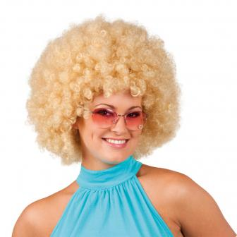 Perruque afro - blond