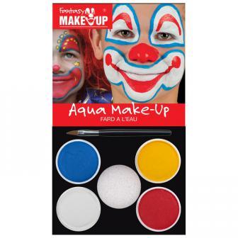 """Set de maquillage Aqua """"Clown"""" 6 pcs"""