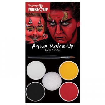 """Set de maquillage Aqua """"Diable et démon"""" 6 pcs"""