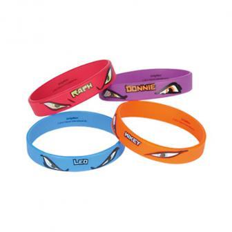 """Bracelets """"Tortues Ninja"""" 4 pcs"""