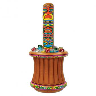 """Seau à boissons gonflable """"Masque Tiki"""" 157 x 69 cm"""