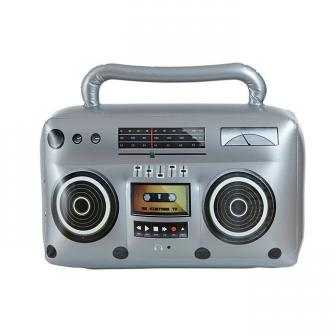 "Radio ghetto gonflable ""Retro"" 50 x 30 cm"