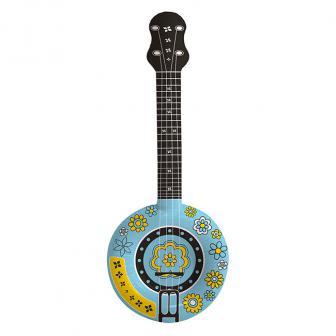 Banjo de hippie gonflable 88 cm