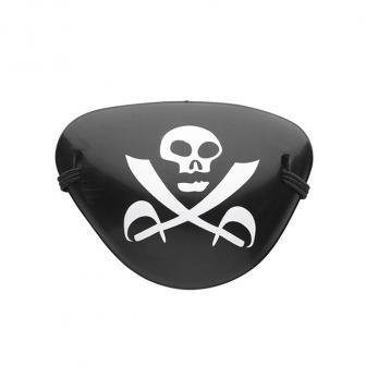 """Cache-oeil en plastique """"Pirate"""""""
