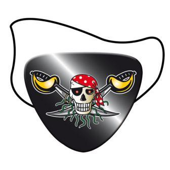 """Cache-œil """"Pirates sauvages"""" lot de 8"""
