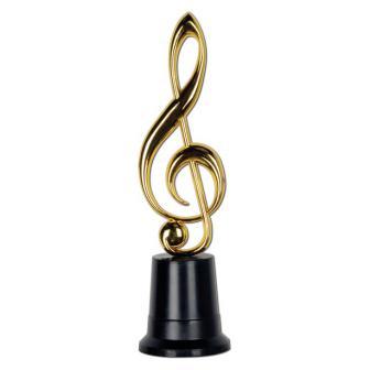"""Trophée """"Clef en or"""" 21 cm"""