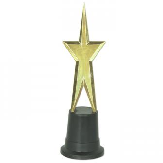 "Trophée Awards ""Étoile d'or"" 23 cm"