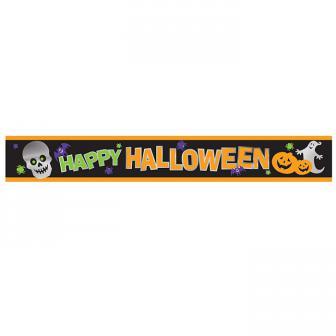"""Bannière """"Happy Halloween"""" 2,7 m"""