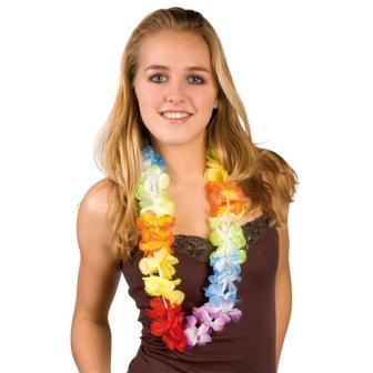 """Collier de fleurs """"Rainbow"""""""