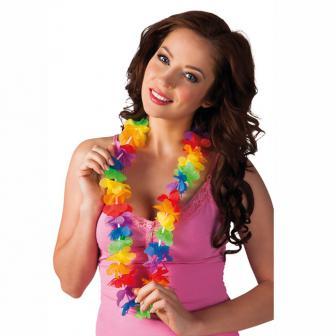 Collier de fleurs Hawaï Promo