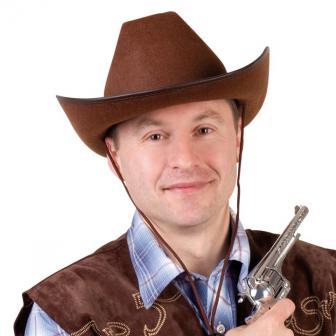 "Chapeau de cowboy marron ""Western style"""