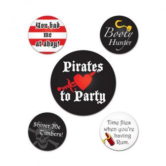 """Macarons """"Pirates"""" 5 pcs"""