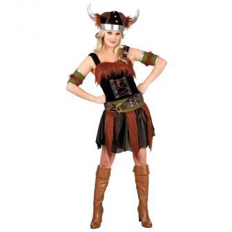 "Costume ""Femme viking"" Deluxe 5 pcs"
