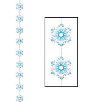 """Déco de plafond """"Petits flocons de neige"""" 200 cm"""
