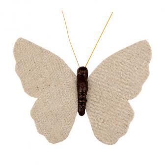 """4 pinces de déco """"Papillons"""""""