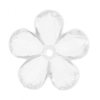 10 fleurs de cristal - transparent