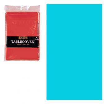 Nappe unie 137 x 274 cm - turquoise
