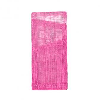 4 pochettes pour couverts unicolores - rose vif