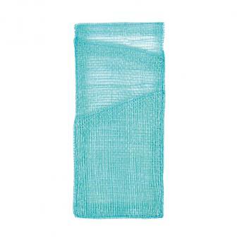 4 pochettes pour couverts unicolores - turquoise
