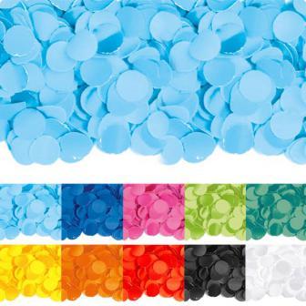 Confettis en papier uni 100 g