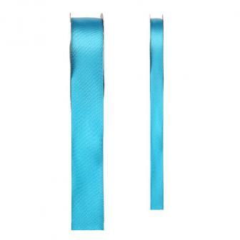 Ruban de déco en satin unicolore - turquoise-3 mm
