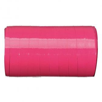 Ruban cadeau unicolore brillant 50 m - rose vif