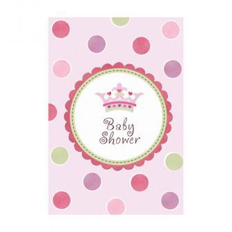 """Set de cartons d'invitation """"Baby Shower - Girl"""" 32 pièces"""
