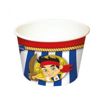 """8 coupelles à glace """"Hoho - Jake et les Pirates du Pays imaginaire"""""""