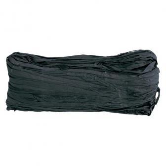 Raphia naturel coloré 50g - noir