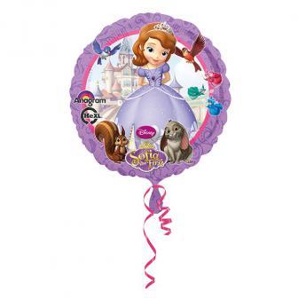 """Ballon en alu """"Princesse Sofia"""" 43 cm"""
