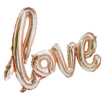 """Ballon en alu """"Love"""" 73 cm"""