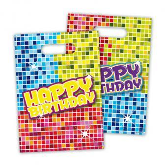 "Pochettes surprises ""Happy Crazy Birthday"" 6 pcs"