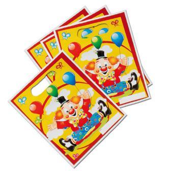 """8 pochettes surprises """"Clown rigolo"""""""