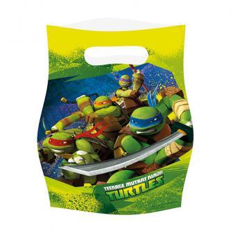 "6 pochettes surprises ""Ninja Turtles"""