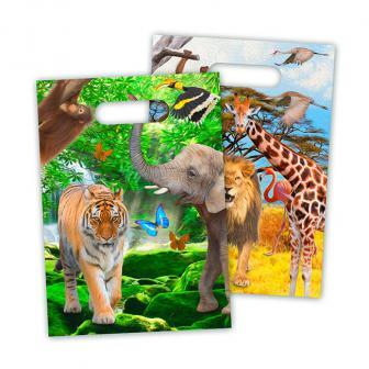 "8 pochettes surprises ""My Safari Party"""