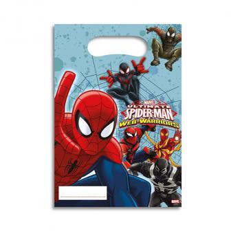 "6 pochettes surprises ""Spider-Man - Web Warriors"""