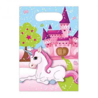 """6 pochettes surprises """"La vie rose des licornes"""""""