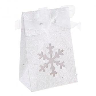 """Boîtes cadeaux """"Paillettes et flocons de neige"""" 4 pcs."""