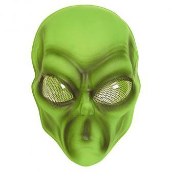 Masque d'alien vert