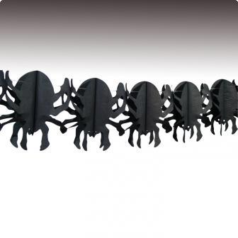 "Guirlande ""Grosses araignées"" 4 m"