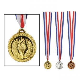"""Médaille brillante """"Champion"""""""