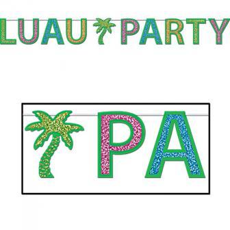 "Guirlande étincelante ""Luau Party"" 2,4 m"