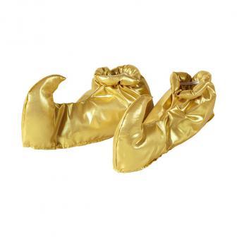 """Chaussures dorées à bec """"Rêve oriental"""""""