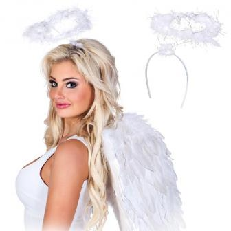 "Serre-tête ""Ange blanc"""