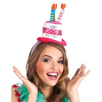 """Serre-tête """"Mini chapeau d'anniversaire"""""""