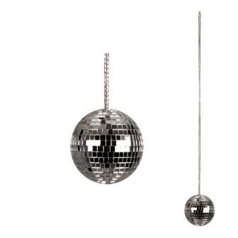 Collier avec boule à facettes 48 cm