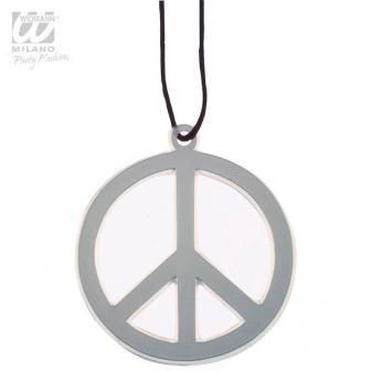 "Collier de hippie ""Peace"""