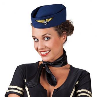 """Chapeau """"Hôtesse de l'air"""""""