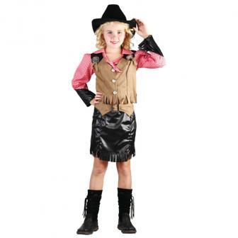 """Costume pour enfant """"Cow-girl"""" 3 pcs"""